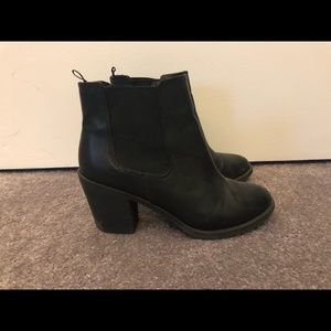 Black H&M Ankle Boot